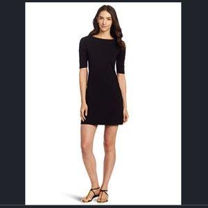 Lilly Pulitzer Kaleb Pima Cotton Black Dress XS